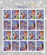 SCOTT 4192-4195 THE ART OF DISNEY magic SHEET OF 20 MNH 2006