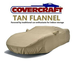 Covercraft TAN FLANNEL Indoor CAR COVER fits 2006 to 2011 BMW 3 Series Sedan