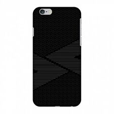 AMZER Slim Snap On Case Carbon Fibre Redux 6 HARD Plastic Protector Phone Cover