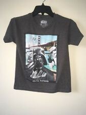 "Star Wars Death Vador ""selfie"" Shirt Size XS 0518*5"