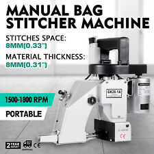110V Industrial Portable Electric Bag Stitching Closer Seal Sewing Machine