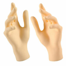 New Listingpack Of 2 Female Mannequin Model Hands For Jewelry Display Skin Color