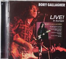 Rory Gallagher-Live in Europe UK hard rock blues remaster cd 2 bonus tracks
