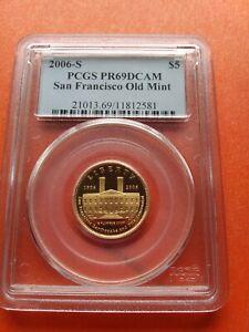2006-S G$5 San Francisco Old Mint PCGS PR69DCAM