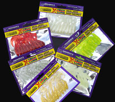 Wholesale 60pcs Lot Maggot Soft Plastic Lures Fishing Lure Soft Bait Tackle 6cm