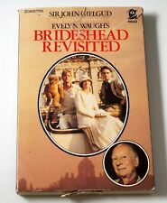 Excerpts from Brideshead Revisited read by Sir John Gielgud 2-cassettes audio