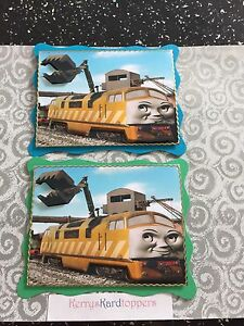 2 x Decoupage Pictures of Thommas & Friends Theme Toppers