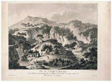 Basilicata - Lagonegro - Pertosa - Saint Non - I edizione - 1781 - acquaforte