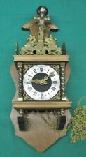 Vintage Zaanse Warmink Dutch Wall Clock 8 day Parts or Repair