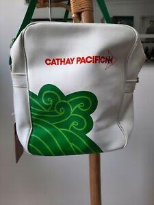 Cathay Pacific Retro Vintage Flight Bag 1st Class rare