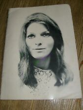 Judy Collins Concert Program 1968 Folk Music