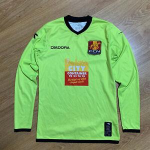 Nordsjaelland Long Sleeve Football Shirt Jersey Diadora Size XS