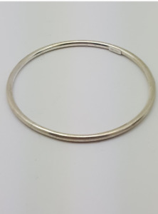Vintage Sterling silver golf bangle - made in Italy