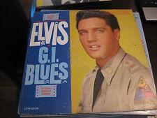 Elvis Presley; GI Blues Original Soundtrack  on LP