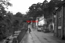 PHOTO  1971 ISLE OF MAN LAXEY SHOWING THE MER VIADUCT OVER LAXEY GLEN