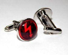 Marilyn manson logo cufflink jewery Gothic cufflink Rock Hard Metal Musi cufflnk