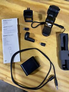 DJI Osmo Pocket 3-Axis Stabilizer and 4K Handheld Camera -Barely Used
