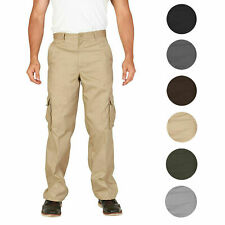 Men's Tactical Combat Military Army Work Twill Cargo Pants Trousers