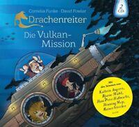 DRACHENREITER-DIE VULKAN-MISSION - FUNKE,CORNELIA  2 CD NEW