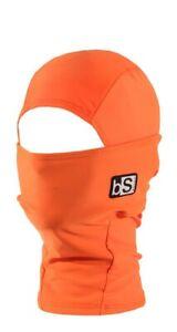 BlackStrap Kids Hood Balaclava Facemask Bright Orange New OSFM KIDS ages 2-7ish