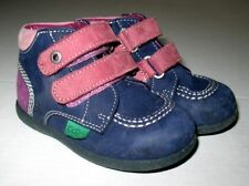 Jolies Chaussures KICKERS à scratchs Taille 22