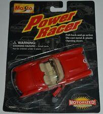 1996 Maisto 1957 Chevrolet Corvette Convertible Power Racer Motorized MIP Diecas
