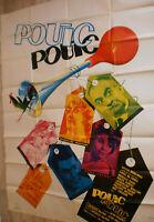 XXL Filmplakat,POUIC POUIC, LOUIS DE FUNES,MIREILLE DARC