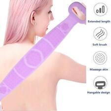 2020 Bath Shower Silicone Body Brush Bath Belt Exfoliating Clean Back Brush C6X1