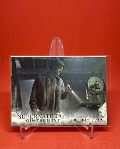 Supernatural Join The Hunt Trading Cards Seasons 1-3 Holiday Fear Miscut MP #59