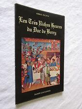 LES TRES RICHES HEURES DU DUC DE BERRY ORBIS PICTUS 31