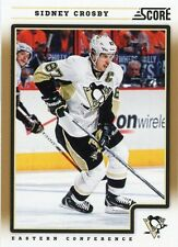 12/13 SCORE GOLD #371 SIDNEY CROSBY PENGUINS *31103