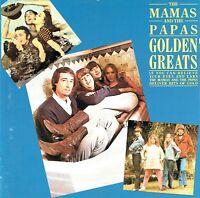 (CD) The Mamas & The Papas - Golden Greats - Monday Monday, California Dreamin'