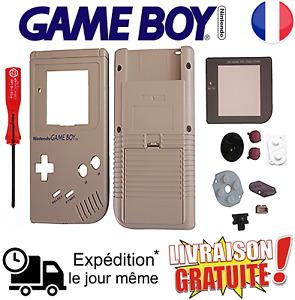 Kit complet de réparation rénovation pour Nintendo Game Boy FAT classique (NEUF)