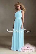 One Shoulder Ballgowns Formal Sleeveless Dresses for Women