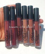 6 PCs MATTE Lip Gloss - Bold & Vivid Color Matte Lip Gloss from Kleancolor
