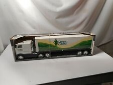 Green Giant Semi Truck and Trailer  Metal
