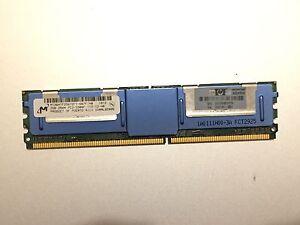 HP 2GB PC2-5300 DDR2-667MHz ECC CL5 240-Pin Memory Module for HP ProLiant Server