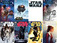 Star Wars #1 (2019) Main Cover: Variants: 1:10: Adams 1:25: Hughes 1:50 + More