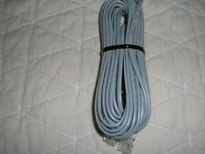 Telephone Extension Phone Cord Cable Line Wire Gray