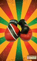Trinidad And Tobago Mini Boxing Gloves - Roots and Culture - Hang in your Car