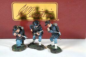 "W Britain 17528 ACW American Civil War ""Union Iron Brigade"" 54mm Miniatures"