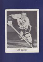 Leo Boivin 1965-66 Coca-Cola Coke Cards Hockey (VGEX) Boston Bruins