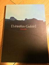 The Gazette - Verwelktes Gedicht (1st press w/ CD) photobook - Japan Visual Kei