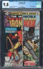 IRON MAN (1968) #144 CGC 9.8 NM/MT WP SUNTURION APP ROMITA JR. COVER ART