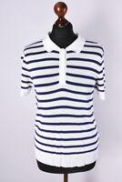 Ladies Gant Short Sleeve Classic Polo T-Shirt Size M