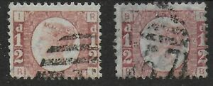 SG48. 1/2d.Rose-Red Plates 4 & 5.  Fine/VFU.  Good Colour & Perfs.  Ref:17150
