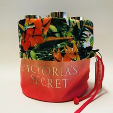 victoria's Secret Neón Coral Tropical Paradise cordón NECESER ESTUCHE