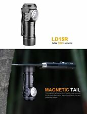 Fenix LD15R LED Taschenlampe Flashlight 500 Lumen magnetisch Akku USB Holster