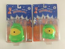 Lot of 2 Two FUTURAMA BRAIN SLUG SQUISHY TOYS Dark Horse Comics Unopened on Card
