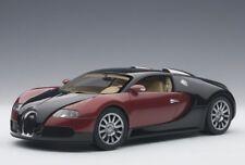 BUGATTI VEYRON EB16.4 PRODUCTION CAR RED & BLACK  1:18 AUTOART 70909 NEW RELEASE
